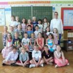 Die Klasse 1a mit Herrn Krüper